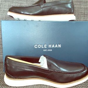 Cole Haan leather slip on shoes men's 9M